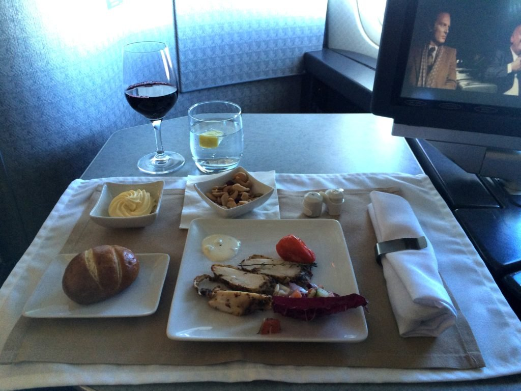 Crónica: American Airlines 777-200 First Class, Barcelona-Miami