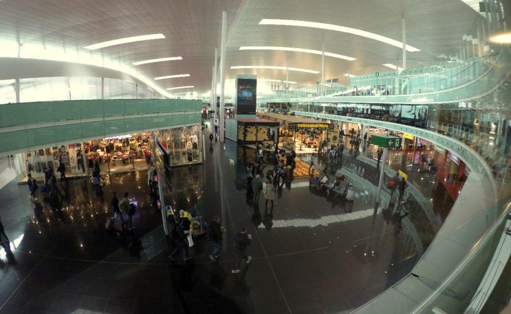 Vista de la terminal - Sala Joan Miró