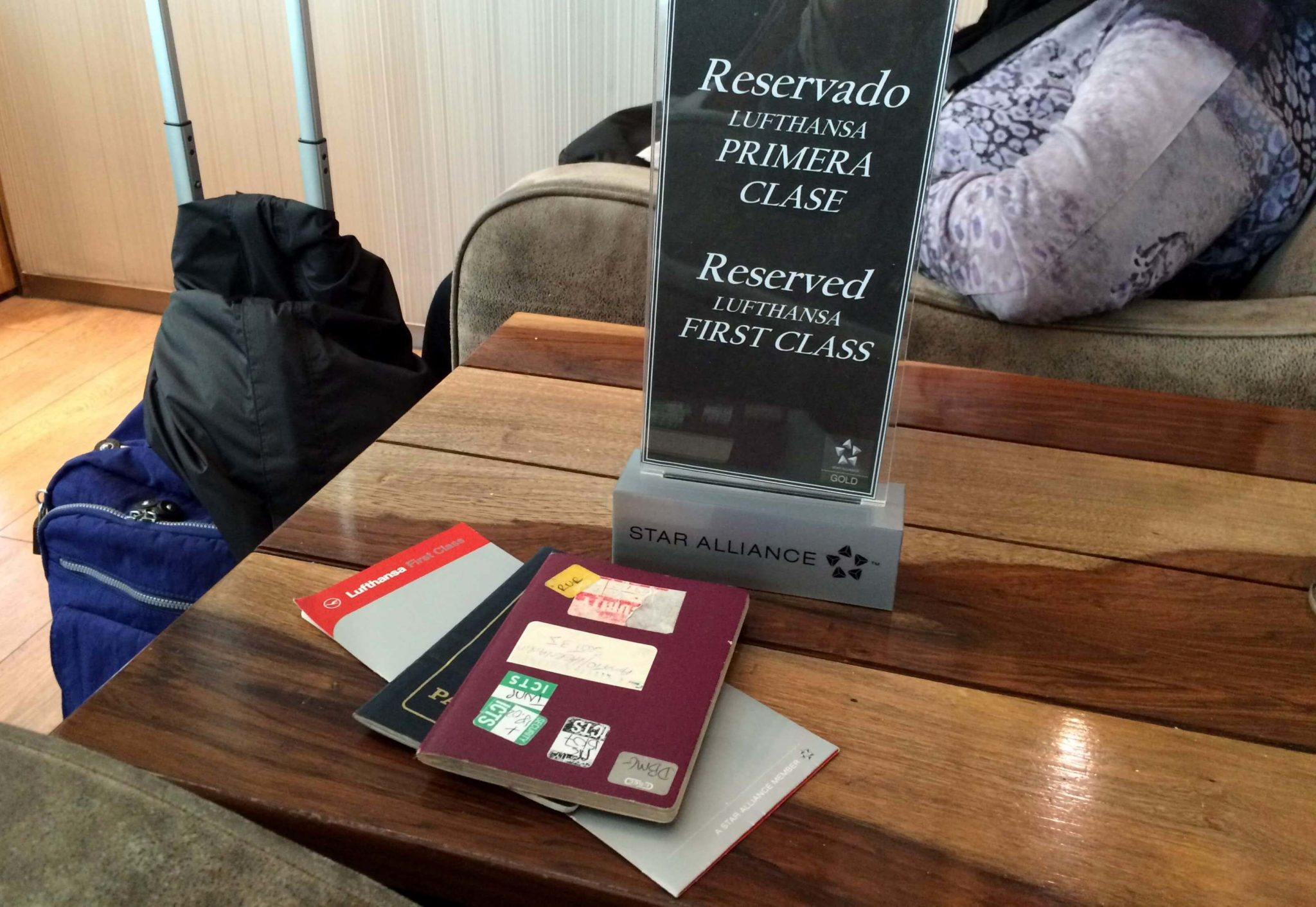 Lounge Star Alliance, aeropuerto de Ezeiza