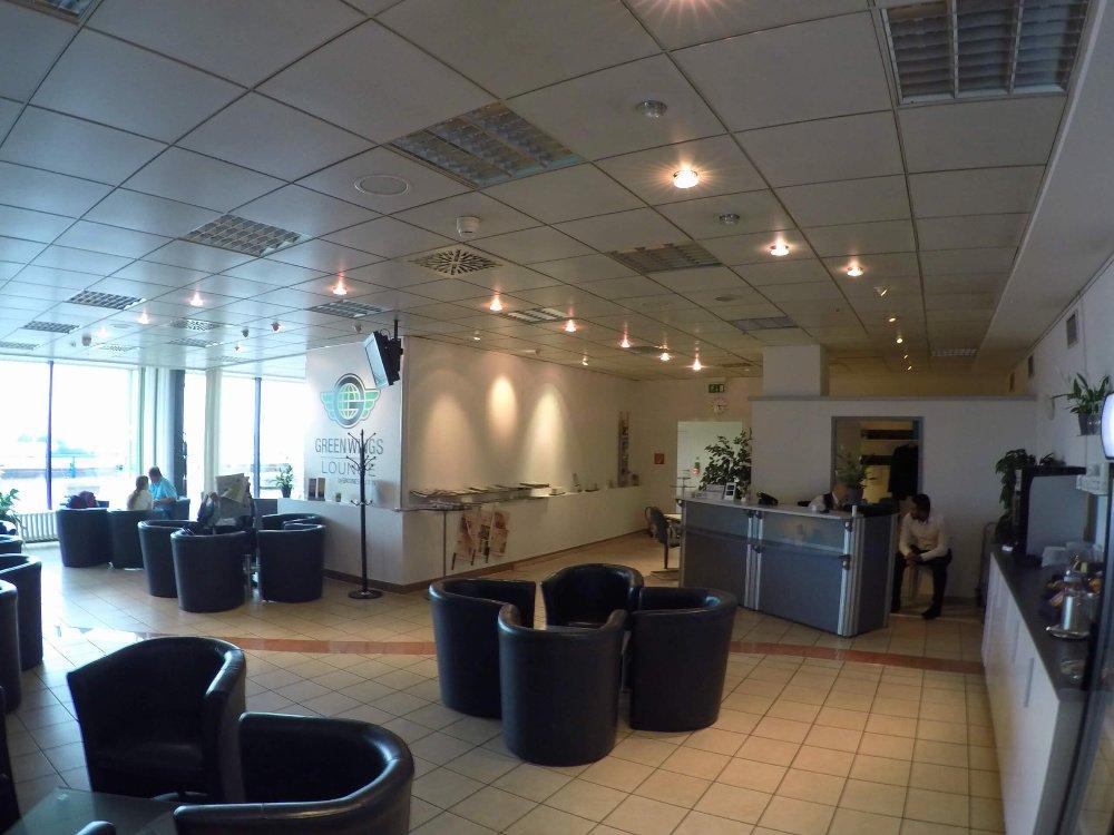 Sala Green Wings aeropuerto Schonefeld