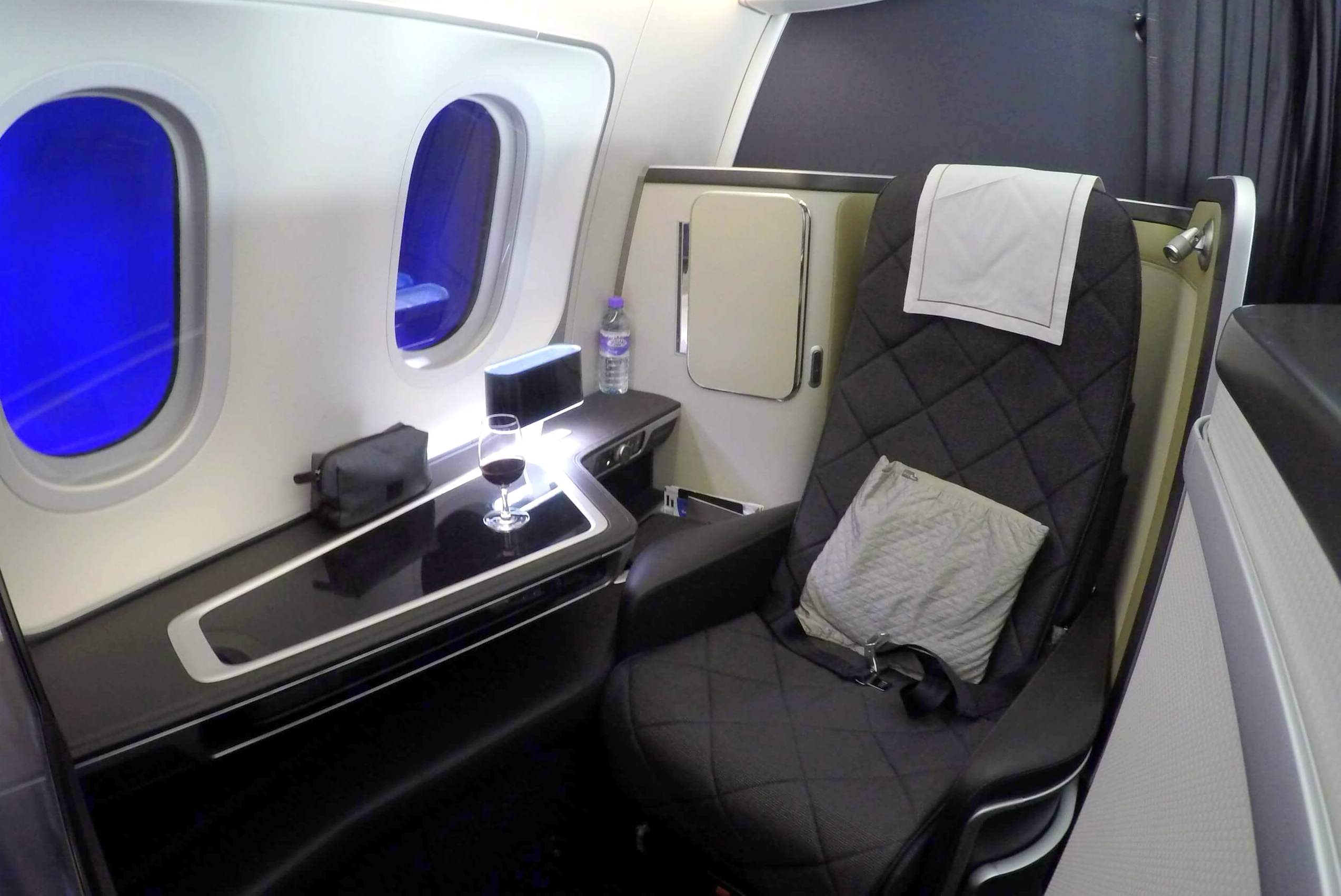 Suite 2K British Airways 787-9