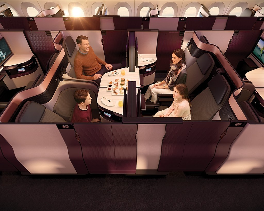 Nueva business class Qatar Airways QSuite