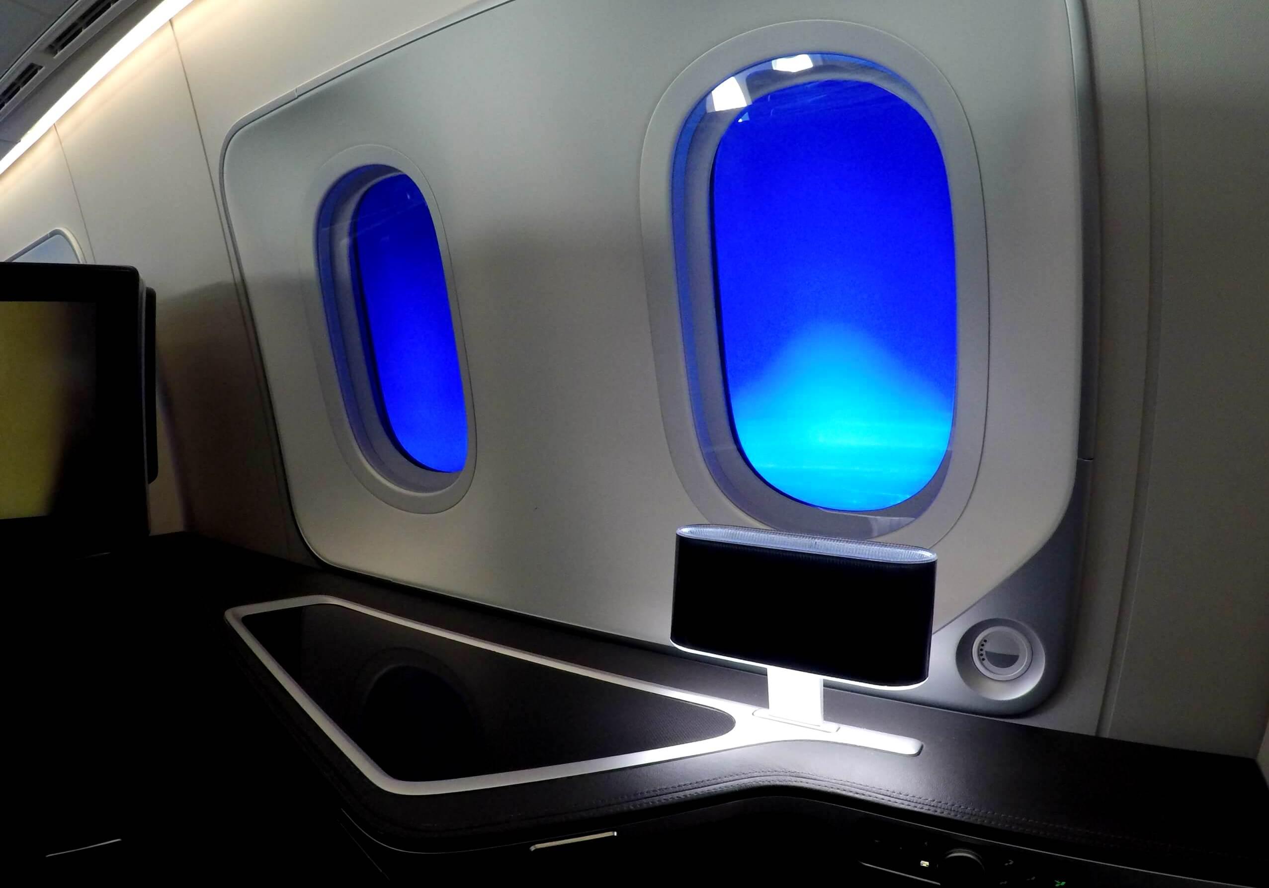 Primera clase British Airways Boeing 787-900